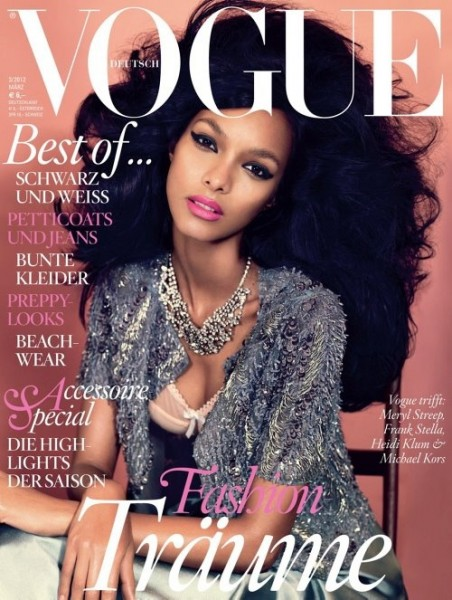 <em>Vogue Germany</em> March 2012 Cover | Lais Ribeiro by Alexi Lubomirski