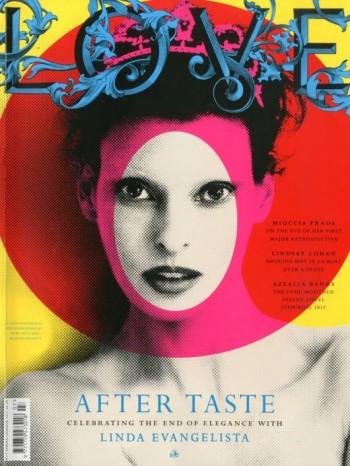 LOVE S/S 2012 Cover | Linda Evangelista by Mert & Marcus