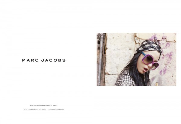 Xiao Wen for Marc Jacobs Spring 2012 Campaign by Juergen Teller