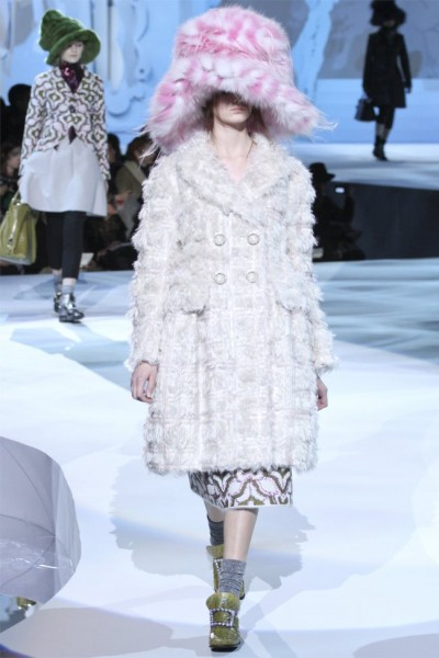 marc jacobs13 400x600 Marc Jacobs Fall 2012 | New York Fashion Week