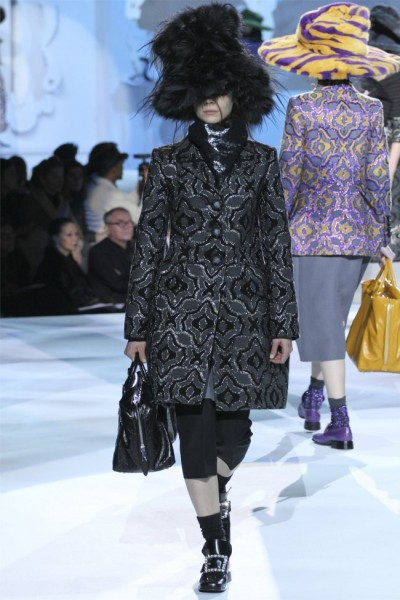 marc jacobs16 400x600 Marc Jacobs Fall 2012 | New York Fashion Week