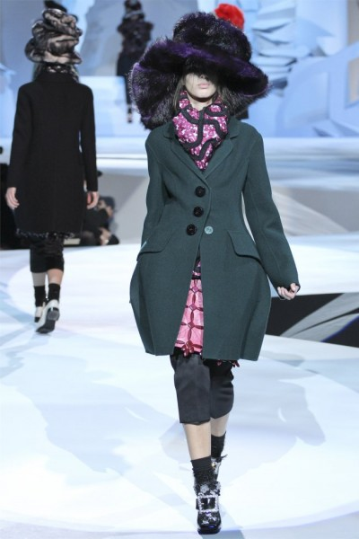 marc jacobs3 400x600 Marc Jacobs Fall 2012 | New York Fashion Week