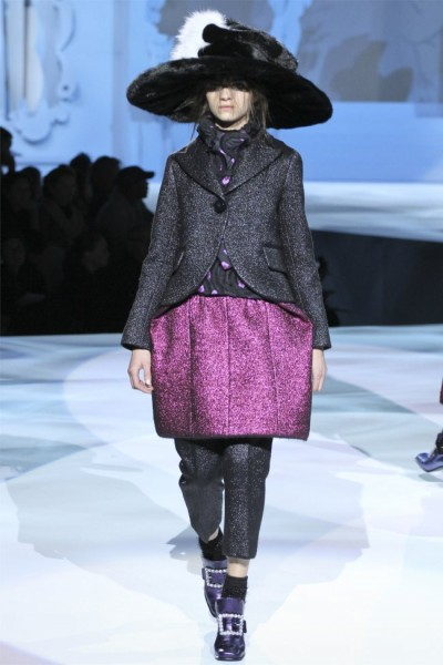 marc jacobs42 400x600 Marc Jacobs Fall 2012 | New York Fashion Week