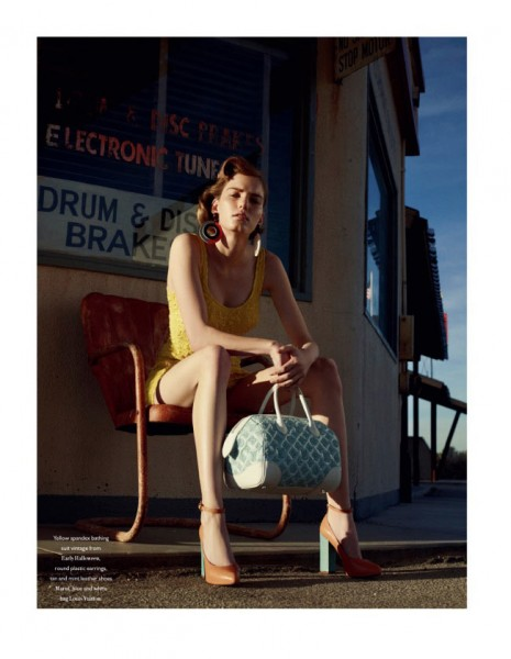 Marique Schimmel by Benny Horne for <em>Bon International</em> S/S 2012