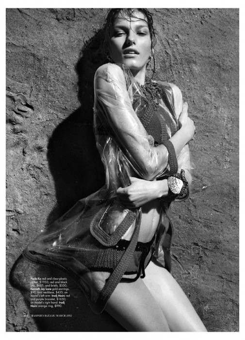 Marique Schimmel by Benny Horne for Harper's Bazaar Australia March 2012