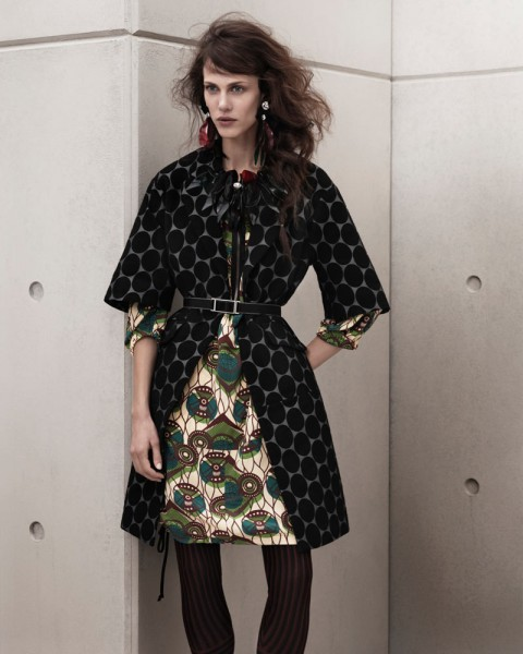 marni look10 480x600 Aymeline Valade for Marni x H&M Spring 2012 Lookbook
