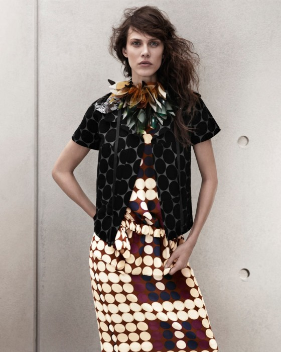 Aymeline Valade for Marni x H&M Spring 2012 Lookbook
