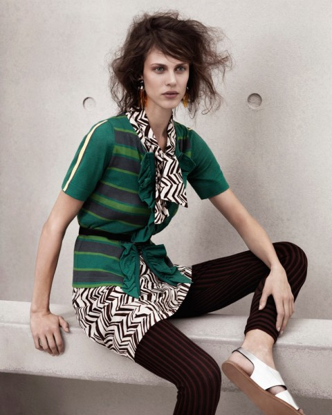 marni look111 480x600 Aymeline Valade for Marni x H&M Spring 2012 Lookbook