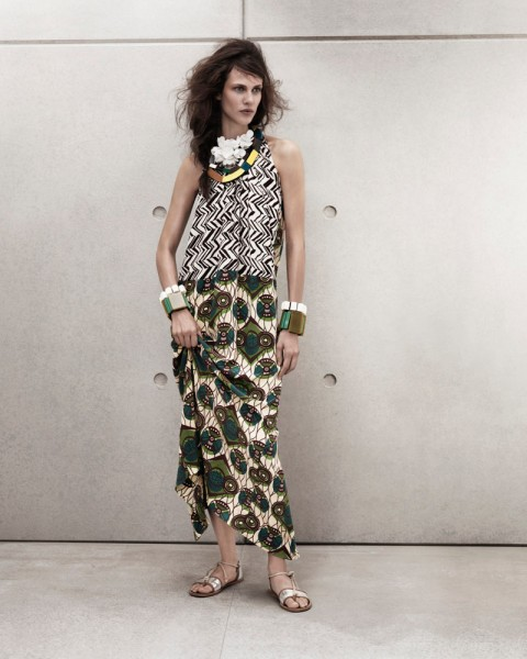 marni look12 480x600 Aymeline Valade for Marni x H&M Spring 2012 Lookbook