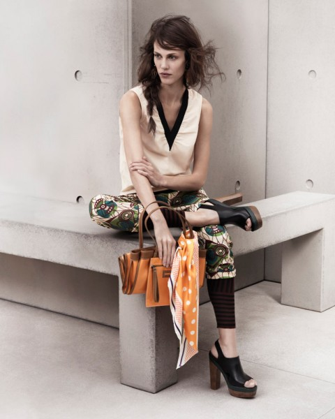 marni look13 480x600 Aymeline Valade for Marni x H&M Spring 2012 Lookbook