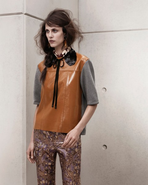 marni look14 480x600 Aymeline Valade for Marni x H&M Spring 2012 Lookbook