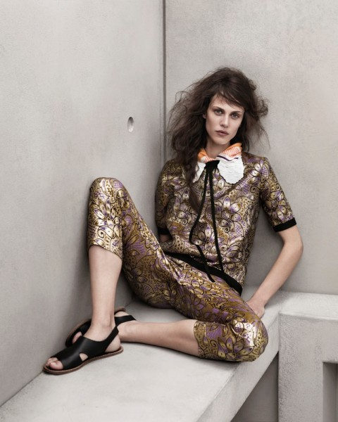 marni look15 480x600 Aymeline Valade for Marni x H&M Spring 2012 Lookbook