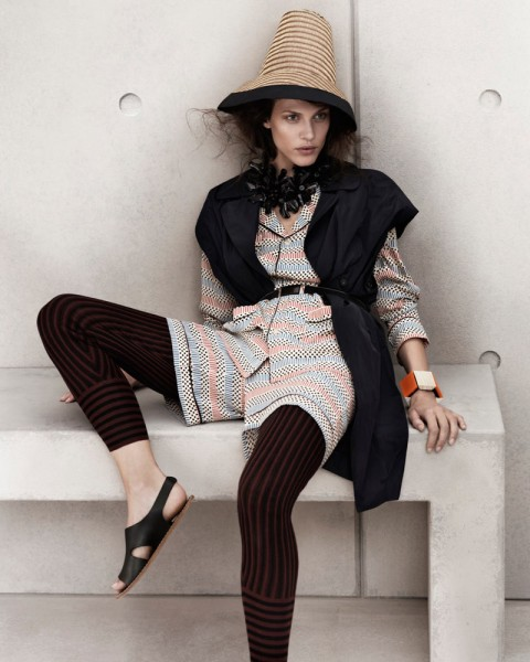 marni look8 480x600 Aymeline Valade for Marni x H&M Spring 2012 Lookbook