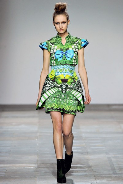 Mary Katrantzou Fall 2012   London Fashion Week