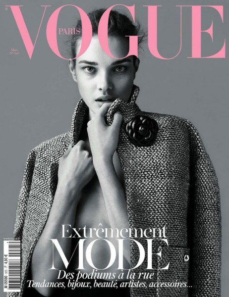 <em>Vogue Paris</em> March 2012 Cover | Natalia Vodianova by Mert & Marcus
