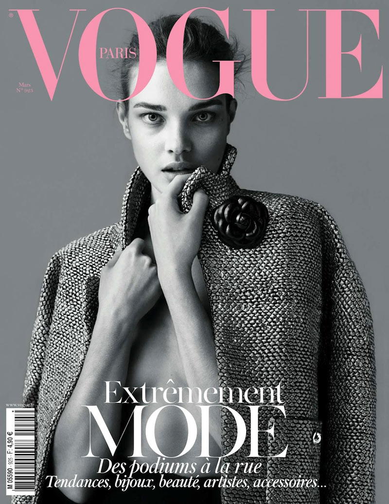 bd6b0a1925d8 Vogue Paris March 2012 Cover