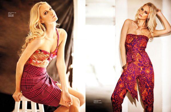 Poppy Delevingne by Santiago Ruiseñor for Elle Mexico March 2012