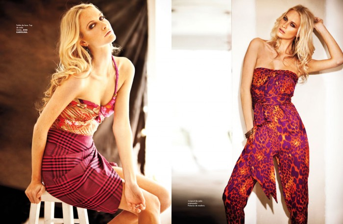 Poppy Delevingne by Santiago Ruiseñor for Elle Mexico March 2012