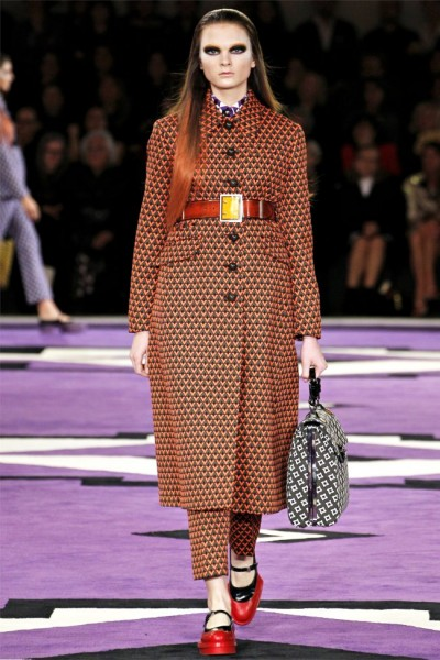 prada11 400x600 Prada Fall 2012 | Milan Fashion Week