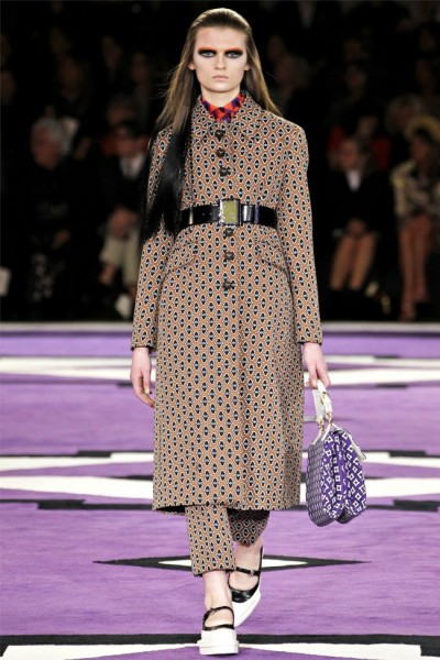 prada7 400x600 Prada Fall 2012 | Milan Fashion Week