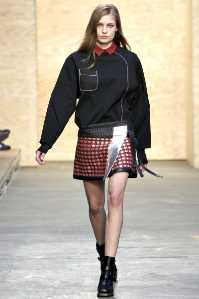 proenza schouler10 400x600 Proenza Schouler Fall 2012 | New York Fashion Week