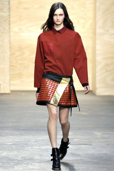 proenza schouler12 400x600 Proenza Schouler Fall 2012 | New York Fashion Week