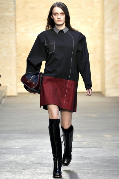 proenza schouler13 400x600 Proenza Schouler Fall 2012 | New York Fashion Week