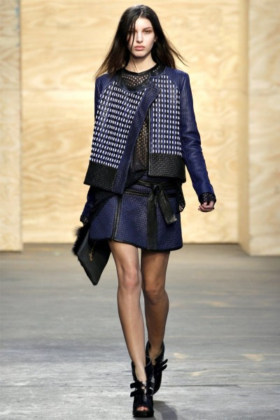 proenza schouler18 400x600 Proenza Schouler Fall 2012 | New York Fashion Week