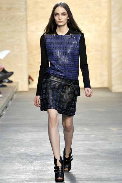 proenza schouler19 400x600 Proenza Schouler Fall 2012 | New York Fashion Week