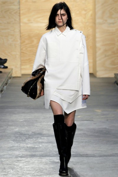 proenza schouler2 400x600 Proenza Schouler Fall 2012 | New York Fashion Week