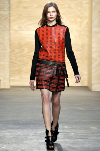proenza schouler21 400x600 Proenza Schouler Fall 2012 | New York Fashion Week