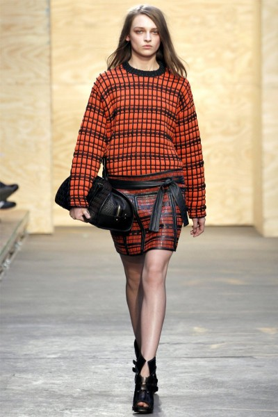 proenza schouler22 400x600 Proenza Schouler Fall 2012 | New York Fashion Week