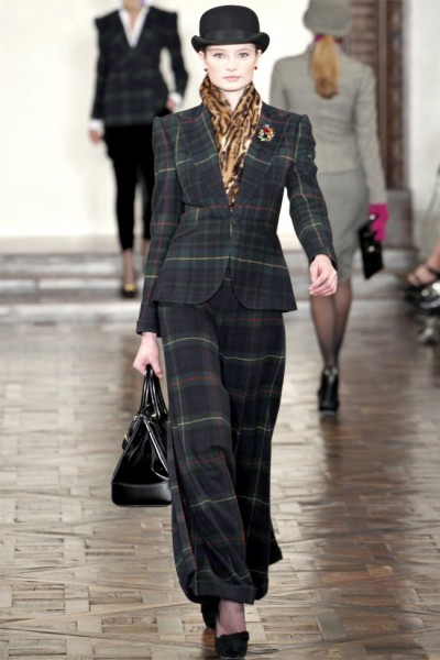 ralph lauren19 400x600 Ralph Lauren Fall 2012 | New York Fashion Week