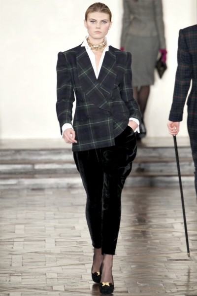 ralph lauren20 400x600 Ralph Lauren Fall 2012 | New York Fashion Week