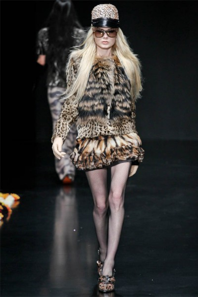 roberto cavalli19 400x600 Roberto Cavalli Fall 2012 | Milan Fashion Week