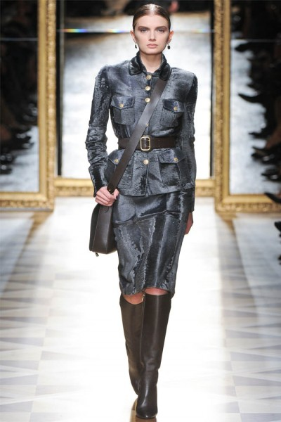 salvatore ferragamo21 400x600 Salvatore Ferragamo Fall 2012 | Milan Fashion Week