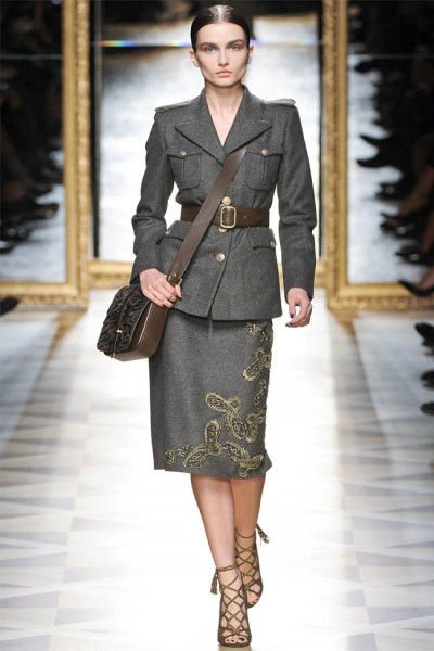 salvatore ferragamo27 400x600 Salvatore Ferragamo Fall 2012 | Milan Fashion Week