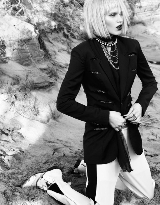 Valeria Dmitrienko by Ceen Wahren for Vogue Taiwan
