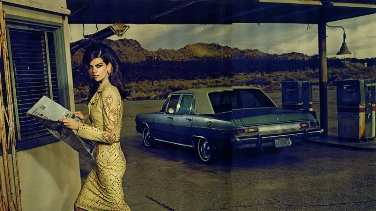 Alexandra Tomlinson by Jacques Olivar for Marie Claire Italia April 2012