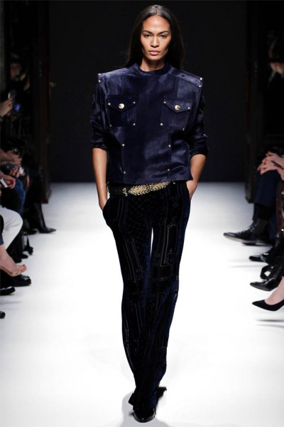 balmain10 400x600 Balmain Fall 2012 | Paris Fashion Week