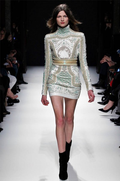 balmain11 400x600 Balmain Fall 2012 | Paris Fashion Week