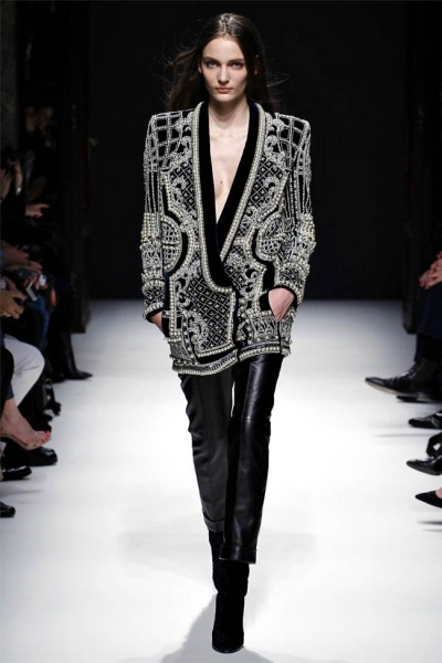 balmain12 400x600 Balmain Fall 2012 | Paris Fashion Week