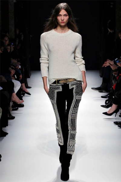 balmain13 400x600 Balmain Fall 2012 | Paris Fashion Week