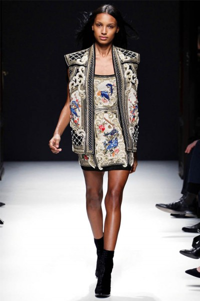 balmain16 400x600 Balmain Fall 2012 | Paris Fashion Week