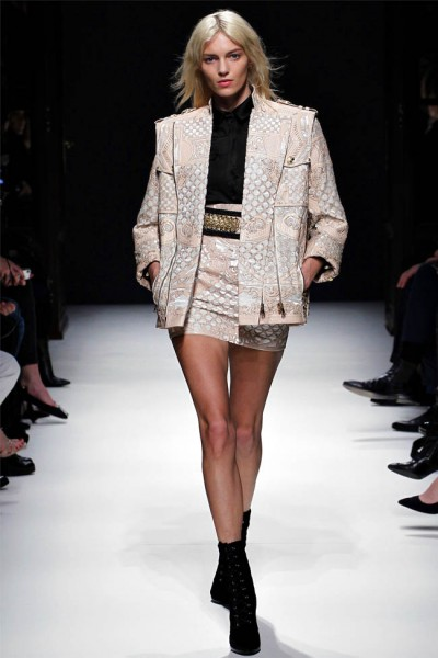 balmain17 400x600 Balmain Fall 2012 | Paris Fashion Week