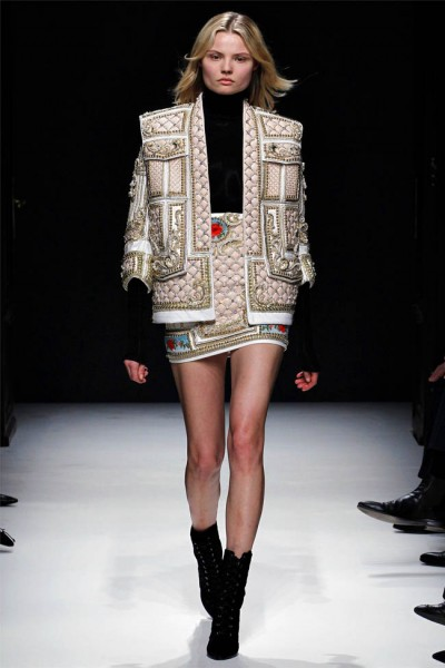 balmain19 400x600 Balmain Fall 2012 | Paris Fashion Week