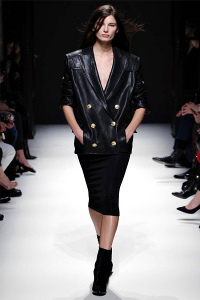 balmain21 400x600 Balmain Fall 2012 | Paris Fashion Week