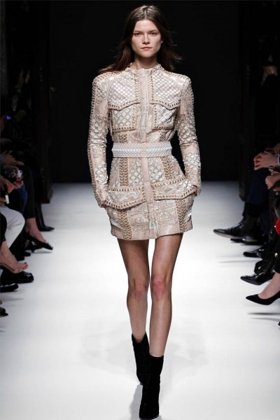balmain24 400x600 Balmain Fall 2012 | Paris Fashion Week