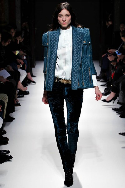 balmain26 400x600 Balmain Fall 2012 | Paris Fashion Week