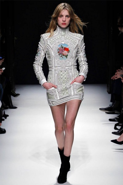 balmain4 400x600 Balmain Fall 2012 | Paris Fashion Week